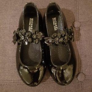 Michael Kors Girls Rover Flora Slip on Dress Shoe